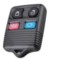 tecla de botón de enfoque de ford al por mayor-Llave automática de alta calidad para el mando a distancia FORD 3 botones 433 mhz y 315 mhz Frecuencia ajustable (negro) (uso para el enfoque 2002-2007 Taurus Territor