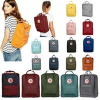 Wholesale rucksack style handbags for sale - Group buy Swedish Fox Student Waterproof Canvas Backpack Men Womens Fashion Style Design Shoulder Bag Junior High School Rucksack Brand Sports Handbag