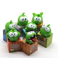 ingrosso grandi rane-Cartoon Big Eye Frog Giocattoli Impastare Make A Sound Giocattolo interattivo Lovely Baby Grasptooth Spitting Ornament Bambini 3 3my N1