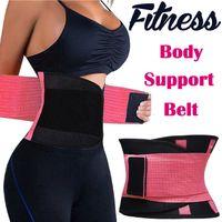 corsé de soporte de cintura al por mayor-Aptitud de la cintura de la aptitud de las mujeres de la cintura del corsé del ajuste del corsé ajustable de la panza del amaestrador de la correa de la pérdida de peso que adelgaza la correa CCA7222 66pcs