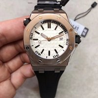 Wholesale new men styles watch resale online - U1 New Style Automatic Movement mm White Dial Xiabisour m Waterproof Men Watch Rubber Band Male Watch