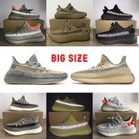 Wholesale Zyon Israfil Earth Kanye West Shoes Designers Men Women Casual Shoes Desert Sage Cinder Cloud White Black Static Full Reflective Sneaker