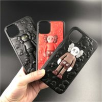 Wholesale iphone toy case online – custom 3D Silicone Doll Toy Soft Design Phone Case For Apple iPhone Protective Shockproof Cute Back Cover for iPhone Pro Max Xs X Max