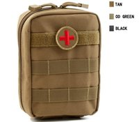 Wholesale emergency pack bag for sale - Group buy 4 Colors Empty Bag for Emergency Bag Tactical Medical First Aid Kit Waist Pack Outdoor Camping Travel Tactical Molle Pouch mini storage bags
