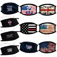 máscaras de rosto de inverno venda por atacado-In Stock 10 Different Styles Donald Trump Face Mask Face Mouth Mask Funny Anti-Dust Cotton USA Masks Woman Men Unisex Winter Warm Washable