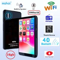 Wholesale wifi mp3 speakers for sale - Group buy 16GB WIFI Bluetooth MP4 Player Speaker MP3 Touch Screen inch Music MP5 Video Player Support TF Card FM recording
