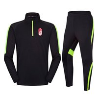 Wholesale teams tracksuit for sale - Group buy Granada Football Team men s tracksuit jacket top training suit outdoor sportswear Jogging wear adult kitChile