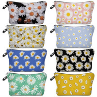 designer envelope clutch bags 2021 - Daisy Makeup Dumpling Clutch Bag Wash Storage Bags Waterproof Household Travel Envelope Handbags Portable Washing Articles Customize 5XS B2