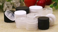 Wholesale pc diameter resale online - 1000 for the mm mm mm Diameter Plastic Bottles Clamshell Cap Cosmetics Containers bottles accessories
