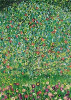 Wholesale impressionist tree paintings resale online - Gustav Klimt The apple tree Canvas Painting Home Decor Handpainted HD Print Oil Painting On Canvas Wall Art Canvas Pictures