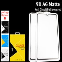 Wholesale oneplus in for sale – best 9D Full Glue AG matte Tempered Glass Screen Protector For Oneplus T Anti glare In carton Box