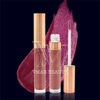 Wholesale lipstick moist resale online - 6 colors Pearlescent Matte Moist Lip Gloss Lip Balm Lipstick Mist Feels Waterproof Natural Moisturizer Lasting Moisturizing Lip Gloss