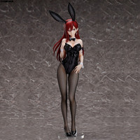 ingrosso fata di coda anime pvc-Azione 45 centimetri Liberazione Fairy Tail Erza Scarlet Bunny Girl Anime Figura Sexy Girl PVC Figure Toys Collection modello della bambola del regalo unisex MX200727