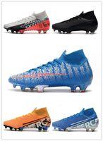 Wholesale neymar jr new cleats resale online - Mercurial Elite FG high soccer shoes sneakers football cleats boots Neymar Jr new lights under the radar cr7 youth kids men women ACADEMY