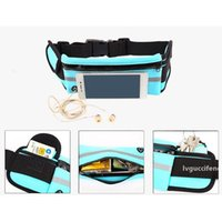 Outdoor Waterproof Men Women Running Waist Bag Fitness Packs Mobile Phone Holder Jogging Sports Running Belt Water Bags for iPhone X XS XS