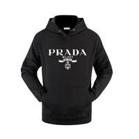 Wholesale jackets cartoon resale online - 20SS Pràda Italy luxury fashion brand clothing Designer mens women hoodies Long Sleeve hooded Jacket prad summer Pullover Loose Sweatshirt