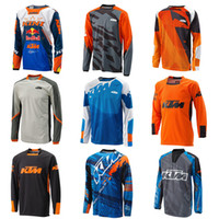 Wholesale long sleeve mx jerseys resale online - For KTM Motocross Jersey Long sleeve MX ATV BMX MTB Jersey Dirt Bike KTM T Shirts Off Road Mens Motorcycle Racing Sweatshirt Quick Dry