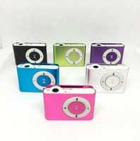 Wholesale Superior Mini Cheap Clip MP3 Player without Screen Support Micro SD Card MP3 Music Players DHL Shipping
