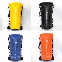 Wholesale cell phone traces resale online - Full air tight double shoulder Waterproof waterproof bag MARJAQE1612 diving exploration exploration swimming and river tracing bag