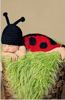 Wholesale ladybug baby clothes resale online - Hundred Days handmade ladybug Hundred Days baby handmade photography cloak clothing baby photography clothing ladybug cloak