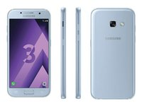 Wholesale android phone 4.7 resale online - Unlocked Original Refurbished Samsung Galaxy A3 A320F inch Octa Core GB RAM GB ROM G LTE Android Mobile Phone