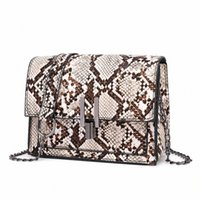 ingrosso best ladies small handbag-Ladies Handbags modello Snake Messenger Bag donne Catena Mini Shoulder Bag Messenger Piccola Piazza Ivanka Trump Borse migliore Messenger S5TN #