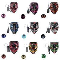 Wholesale handmade skull masks resale online - Handmade Masks Cloth Mask Face Ering Reusable Washable Fashion Men Women