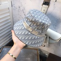 Wholesale christmas berets resale online - Brand Designer Cotton Letter Luxury Bucket Hat For Mens Womens Foldable Caps Fisherman Beach Sun Visor Sale Folding Man Cap BB328