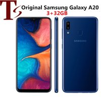 Wholesale 2019 Refurbished Original Samsung Galaxy A20 A205U inch Octa Core Android GB RAM GB ROM MP Unlocked Single Sim Phone
