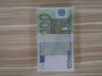 Wholesale Money bar prop Toys Banknote Sets Collection Fake Paper Euro in for10 Novelty7