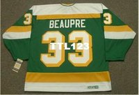 Wholesale north stars hockey resale online - Men DON BEAUPRE Minnesota North Stars CCM Vintage k Hockey Jersey or custom any name or number retro Jersey
