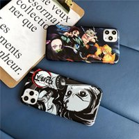 Wholesale iphones for sale - Group buy Demon Slayer Kimetsu no Yaiba Soft Phone Case For iPhones Pro Max X XR XS Max Plus anime characters Cover Shell