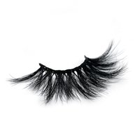 Wholesale curl mink eye lashes extension for sale - Group buy 100 Real Mink Lashes MM D False Eyelashes Long Thick Dramatic Styles eyes lash packaging box Extension beauty lashes