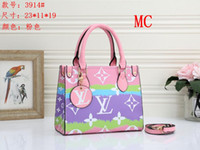 Wholesale handbags for women sale for sale - Group buy Designer Tote Bag For Sale Summer Tie Dye Luxury Louìs Vuìttõn Women s Handbag Purses Designer Pastel Tote Escale Collection
