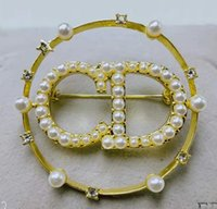 Wholesale fast ball for sale - Group buy designer classic high quality fashion brand brooch fast delivery free postage