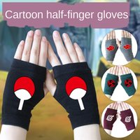 Wholesale free typing games for sale - Group buy Anime peripheral half finger male female students autumn winter typing and writing games essential Warm and gloves warm gloves