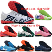 Wholesale 13 spring resale online - 2020 top quality mens soccer cleats Mercurial Superfly Pro TF indoor soccer shoes botas de futbol football boots sneakers CR7