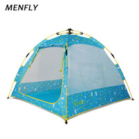 Wholesale toy tent for kids resale online - MENFLY Outdoor Automatic Picnic Tent Children s Toy House Home Game Room Tent for Kids Play Wigwam Girl Beach Plaything Lodge