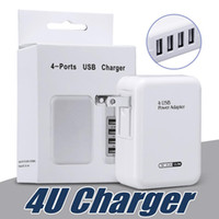 Wholesale motorola smartphones resale online - Fast Speed Ports USB Wall Home Travel Charger AC Power Adapter with Folding Plug For Universal Smartphones with Retail Package