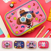 Wholesale local bag resale online - bentoy local tyrants square square large capacity personalized Storage Cosmetic cosmetic bag printing cute hipster storage bag