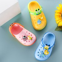 Wholesale slippers shoes kids animal for sale - Group buy Summer Kids Slippers Cartoon Animal Baby Girl Shoes Fashion Hole Beach Sandals Children Boys Indoor Bathroom Slippers SBY005
