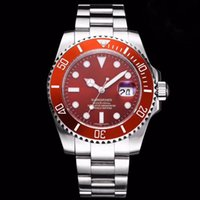 Wholesale famous watches prices for sale - Group buy Factory Price Mens Watches Fashion Famous BRAND Movement Watch Automatic Luxury Clock Classic Temperament Red Round Dial Saat Hour