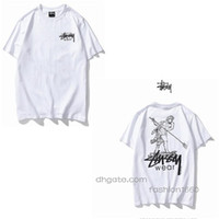 Wholesale flash quick dry t shirts resale online - G Summer t shirt Men Fashion Cool Skulls Printed Short Sleeved Tees Tops Tee Shirts Clothing Size S XL
