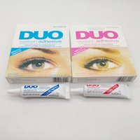 Wholesale eye pack for sale - Group buy DUO Eyelash Adhesive g oz Eye Lash Glue Makeup Adhesive Waterproof False Eyelashes Adhesives Glue with packing Practical Eyelash Glue