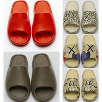Wholesale styles slipper for man for sale - Group buy New style men and women cheap slippers non slip earth brown desert slide resin sandals for runners size