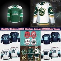 Wholesale multi team resale online - 2021 Seattle Kraken Ice Hockey Jersey th New Team Custom Mens Womens Youth Road Any Nunber Any Name Stitched Shirt Good Quality Jerseys