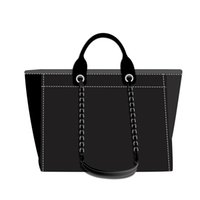 Wholesale oxford classics for sale - Group buy 3A NEW top shopping bag tote bag fashion classic men and women wallet canvas handbag black blue white multicolor pattern woven shopping bag