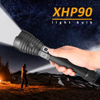 250000 Lumens Xhp90 Most Powerful Led Flashlight Usb Rechargeable Torch Xhp70 Hand Lamp 26650 18650 Battery Flash Light Y200727