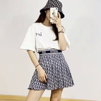 Wholesale short skirt trousers for sale - Group buy 2020Web celebrity new summer versatile short sleeve T shirt printed trouser skirt casual fashion suit