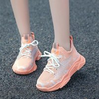 Wholesale sport shoes for girls new fashion resale online - 2020 Autumn New Girls Boys Sneaker Kids Running Shoes Fashion Breathable Casual Sports Kids Shoes For Girls Boys Children